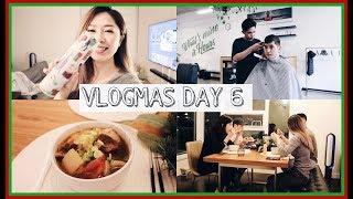 VLOGMAS DAY 6 | 2018第一個聖誕禮物、公開牛肉麵食譜、忙碌的一天
