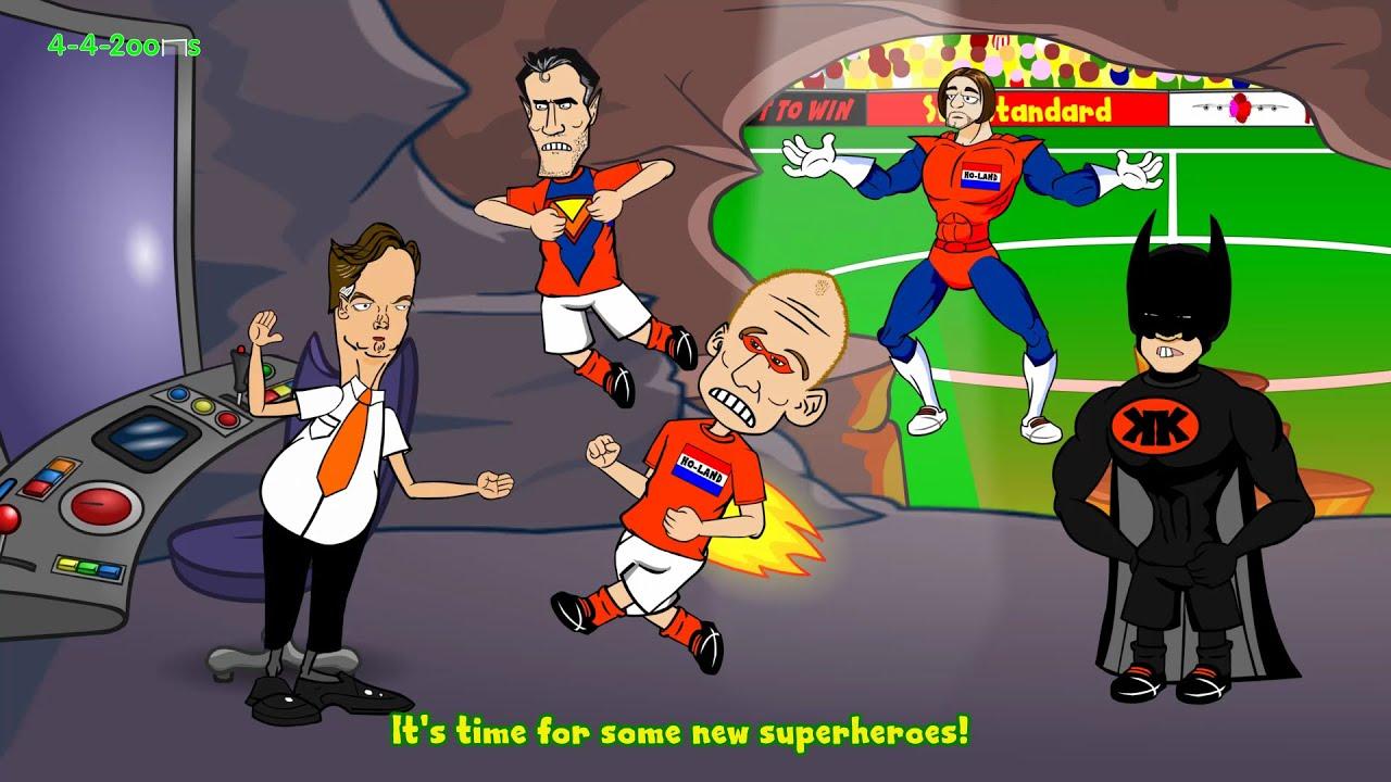 ????????HOLLAND vs ARGENTINA???????? ⚽️penalties⚽️ (penalty shootout World Cup Semi-Final 2014 Carto