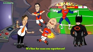 🇳🇱HOLLAND vs ARGENTINA🇦🇷 ⚽️penalties⚽️ (penalty shootout World Cup Semi-Final 2014 Cartoon)
