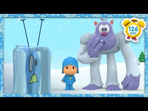 ❄️ POCOYO in ENGLISH - The Christmas Yeti [ 136 minutes ]   VIDEOS and CARTOONS for kids