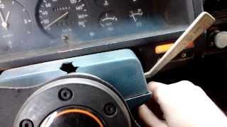 Nissan Patrol 3300 1986 cold start -2cº
