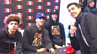 SPENT A DAY WITH THE BALL BROTHERS