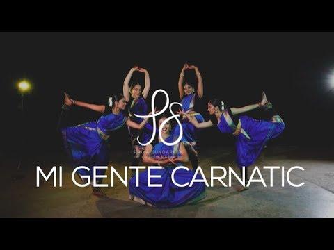 Mi Gente Carnatic (Indian Raga) | Priya Sundaresh Choreography