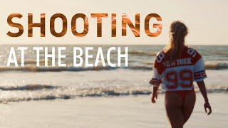 Shooting at the Beach X Margaux & Mickael