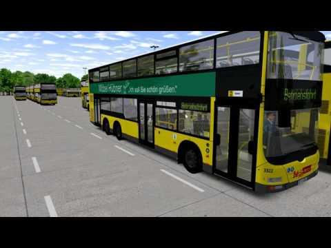 Omsi 2 ( Bus Simulator) - Berlin X10 - Tour in the Bus  