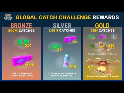 Download Youtube: POKEMON GO GLOBAL CATCH CHALLENGE   FARFETCH'D AVAILABLE AROUND THE WORLD l GEN 3 SOON?