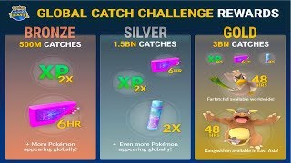 POKEMON GO GLOBAL CATCH CHALLENGE | FARFETCH'D AVAILABLE AROUND THE WORLD l GEN 3 SOON?