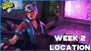 WEEK 2 SECRET BATTLE STAR / BANNER LOCATION - SEASON 7 - FORTNITE BATTLE ROYALE