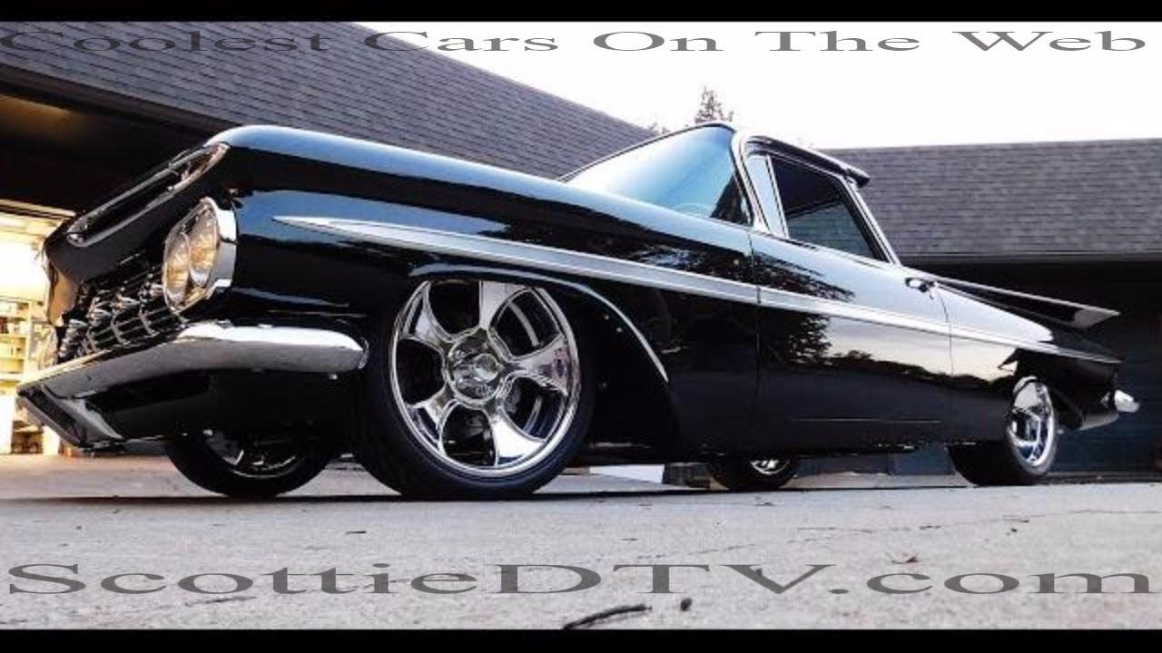 1959 chevrolet el camino alloway s hot rod shop pro auto custom interiors [ 1280 x 720 Pixel ]
