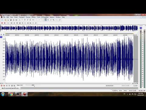 Sound Forge Voice Changer Software Tutorial thumbnail