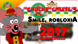 CEC Pizzeria & Games ROBLOX - Smile ROBLOXia, say Chuck E. Cheese! Commercial 60 second