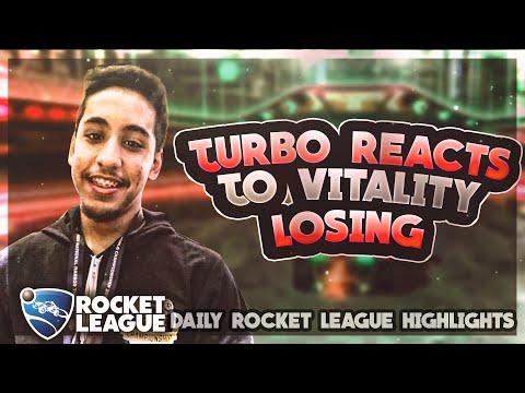 Pro Rocket League Plays: Turbo Reacts to Vitality losing thumbnail