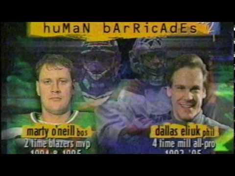 NLL MILL Era 1996 Boston Blazers @ Philadelphia Wings