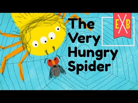 The Very Hungry Spider (Sillywood Tales) - An animated children's story book