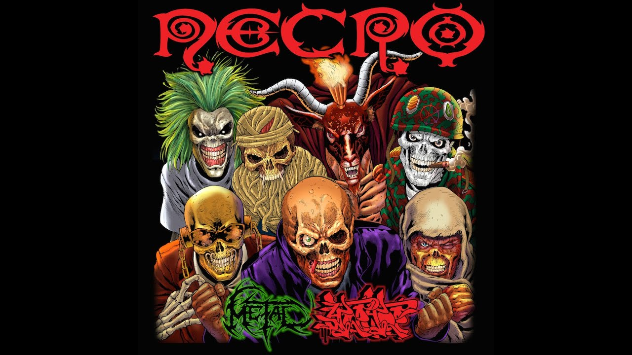 """NECRO - """"SUFFOCATED TO DEATH BY GOD'S SHADOW"""" ft. (Suffocation, Death, Lamb Of God, Shadow's Fall)"""