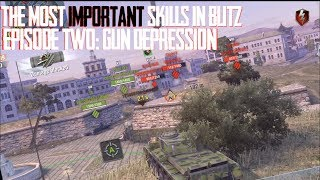 THE MOST IMPORTANT SKILLS IN WORLD OF TANKS BLITZ: GUN DEPRESSION WITH BUSHKA