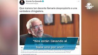 """""""Nos están llevando al baile uno por uno. Mañana puedes ser tú"""", expresó el expresidente de México"""
