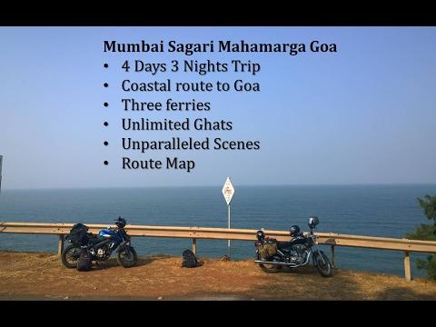 Mumbai Sagari Mahamarga Goa MSH4  - The Coastal Bike Trip to Goa