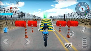 Moto Madness Stunt Race - real bike trials stunts - Gameplay Android game