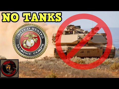 Why Is The U.S. Marine Corps Disbanding All Of Its Tank Battalions?