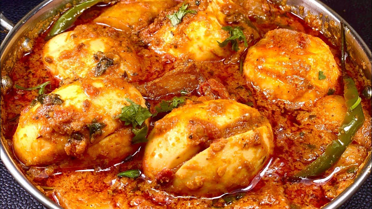 मसाला अंडा करी - ऐसा शानदार स्वाद की ढाबा रेस्टोरेंट सब भूल जायेंगे   Masala Egg Curry   Anda curry