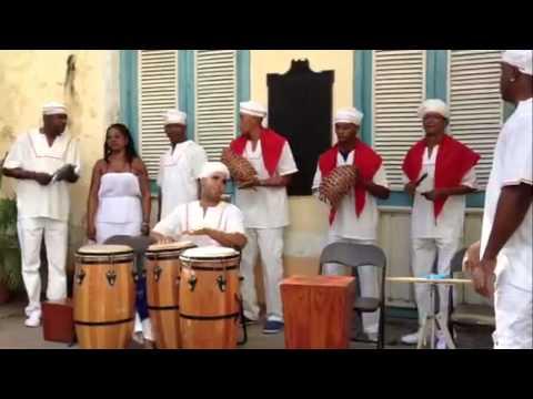 Santeria Ritual - Havana, Cuba 2014