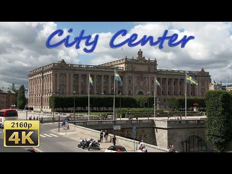 Stockholm, Walk in the City Center - Sweden 4K Travel Channel