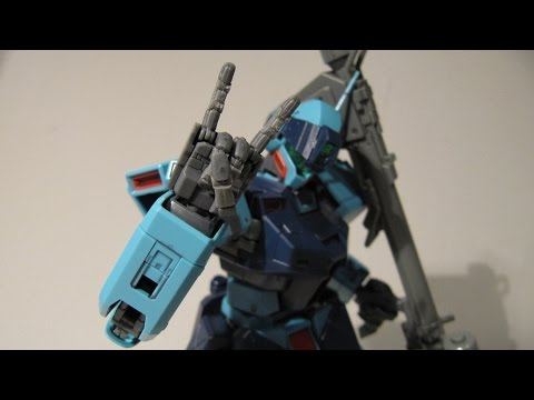 1/100 Mechanical Hand Review (MG-compatible fully poseable hands)