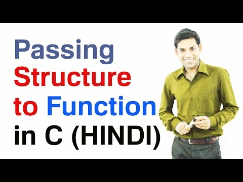 Download Youtube: Passing Structure as a Function Argument in C (HINDI)