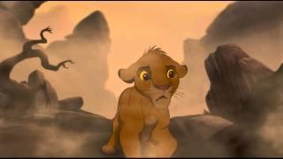 """Самый грустный момент мультфильма """"Король лев"""""""