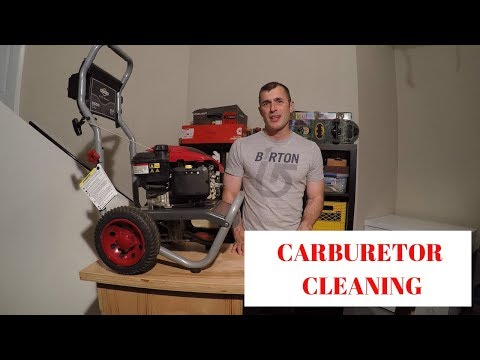 Pressure Washer Carburetor Cleaning