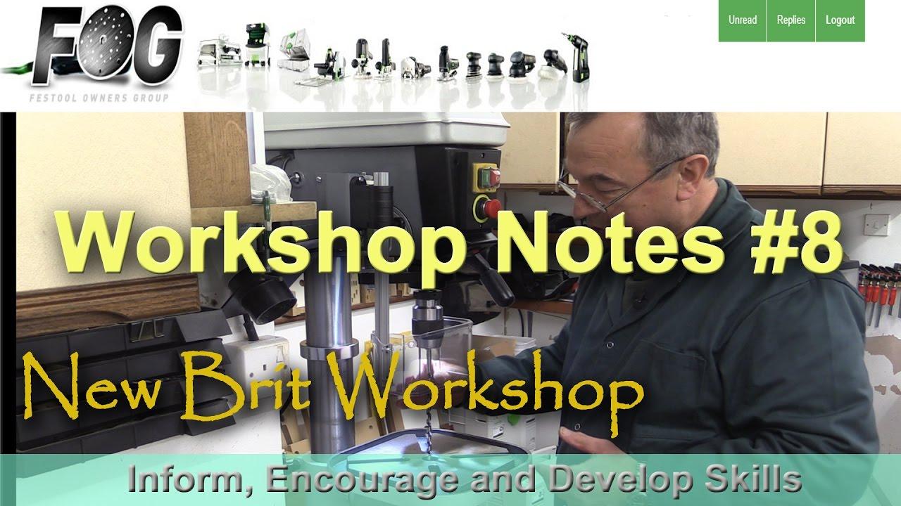 Workshop Notes 8 Youtube