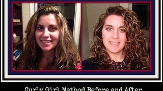 The Curly Girl Method Before and After Pictures