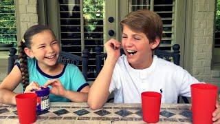 Bean Boozled Challenge!  (MattyBRaps & Olivia Haschak)