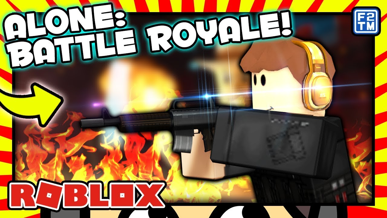 Alone Battle Royale The Best Battle Royale On Roblox Youtube