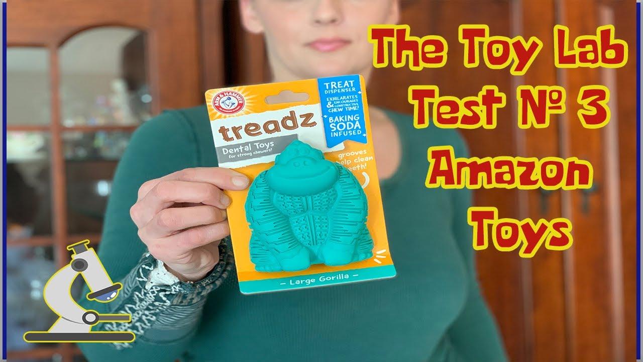 THE TOY LAB - TEST #3 - Arm & Hammer Super Treadz Gorilla Dental Chew
