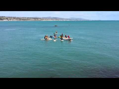 Pete Peterson memorial paddle out