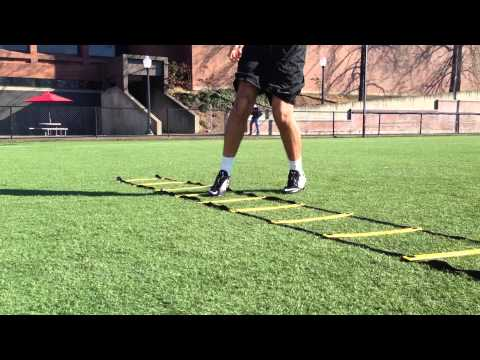 Speed and Agility Wide Receiver Drills