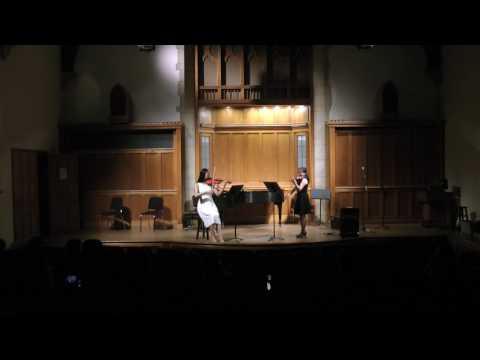Yale School of Medicine - Bach Double Violin Concerto Mvt 2