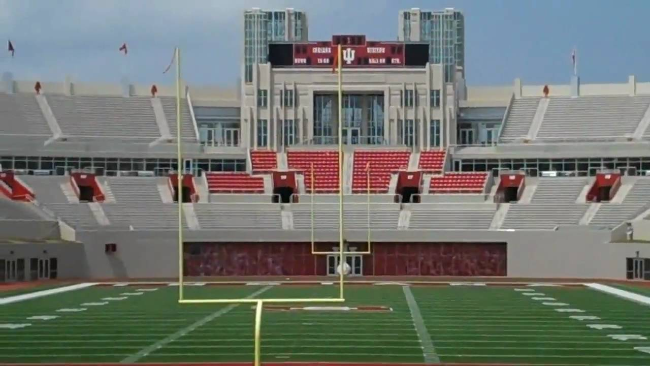 Indiana University Football Stadium - YouTube