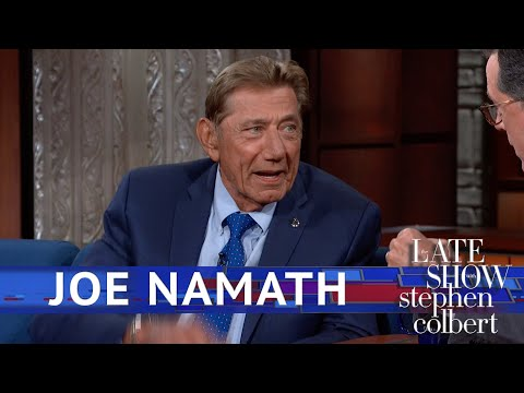 Only Joe Namath Can Pull Off A Fur Coat In July