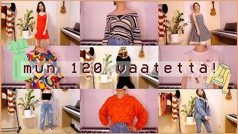 sovitan mun kaikki vaatteet! (120 vaatetta)