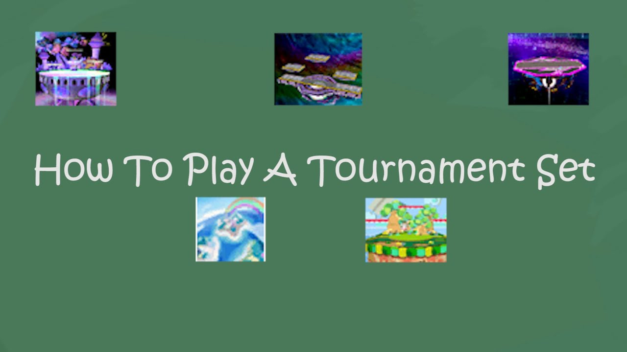 How To Play An Official Tournament Set Super Smash Bros Melee YouTube