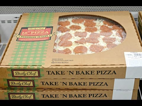 Sams Club Take And Bake Pizza Review Youtube