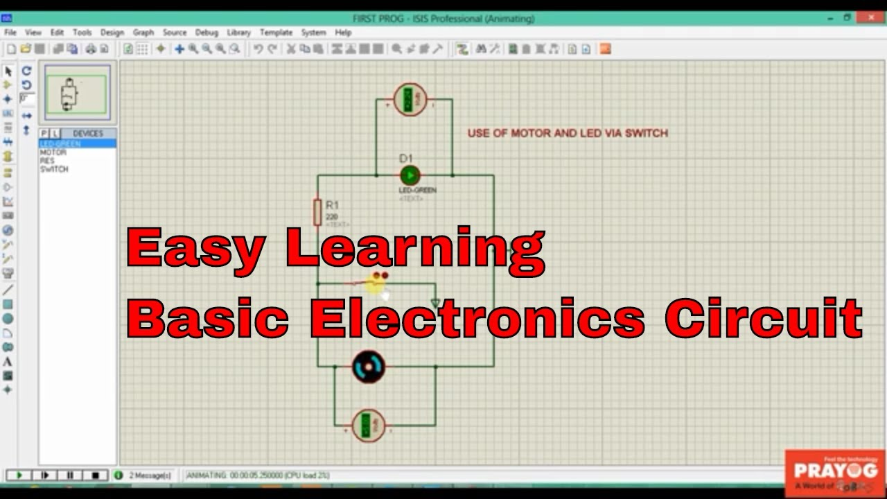 learn basic electronic circuits easy tutorial for beginners youtubelearn basic electronic circuits easy tutorial for beginners
