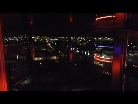INCREDIBLE Otis Traction Scenic Elevators - Concierge Tower, Atlantis Casino Resort Spa, Reno, NV