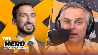 It's ridiculous that LaFleur is tired of Rodgers, talks Pistons Bad Boys — Nick Wright | THE HERD