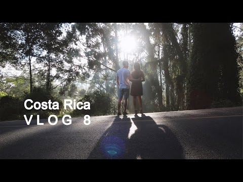 Travel VLOG 8 | first month of my world trip - Alajuela, Costa Rica  | animal nation