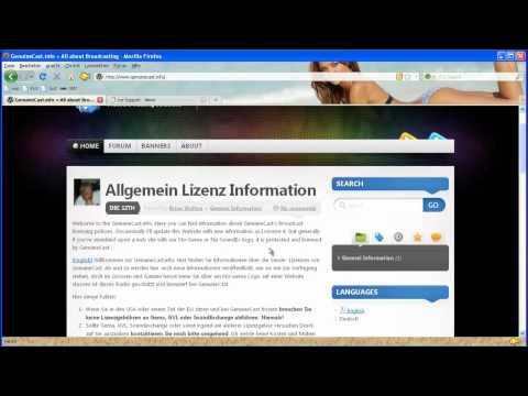 Web-radio Gründen ohne (GEMA und GVL Lizenz Legal) Intro by Germany tutorial by ice-support.de