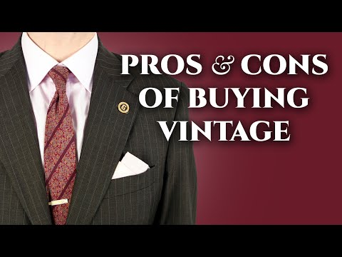 Pros & Cons of Buying Vintage Clothing